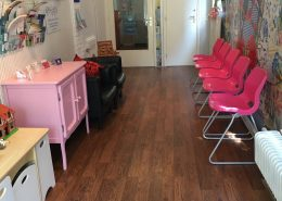 Kindertherapie Amsterdam wachtruimte